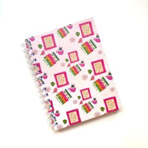 cuaderno escritorio plant lady